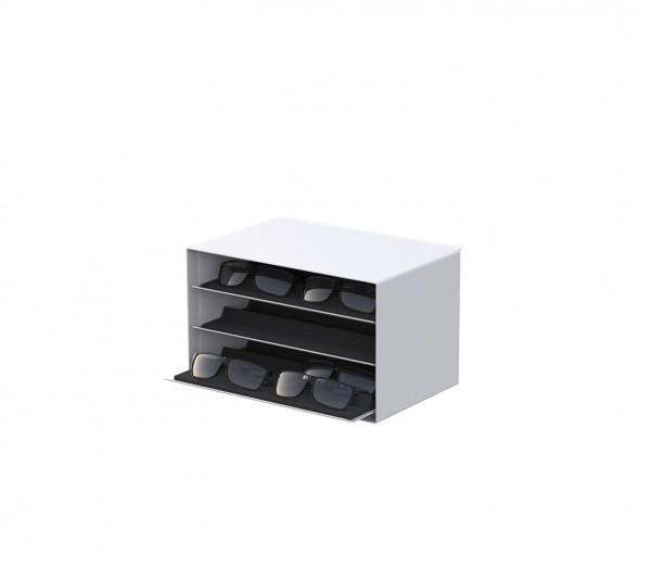 Stauraum-Box und 3 Tablare