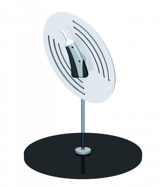 Dekorativer Halter für 1 Hörgerät - SHELL