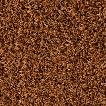 Selbstliegende Teppichbodenfliesen POODLE: 1408 cognac