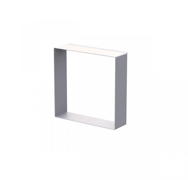 LINEAR Rahmen B, aus Aluminium, weiß pulverbeschichtet