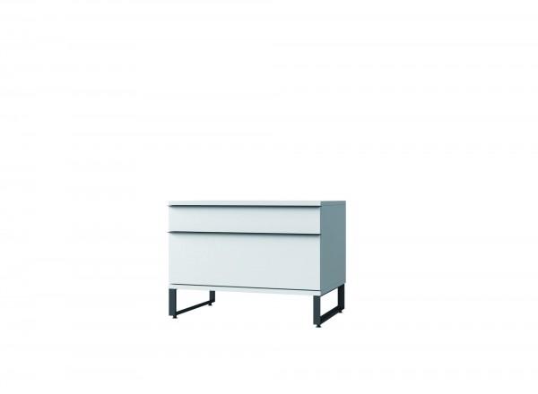 LL-Container mit 1 Schublade und 1 hohen Schublade