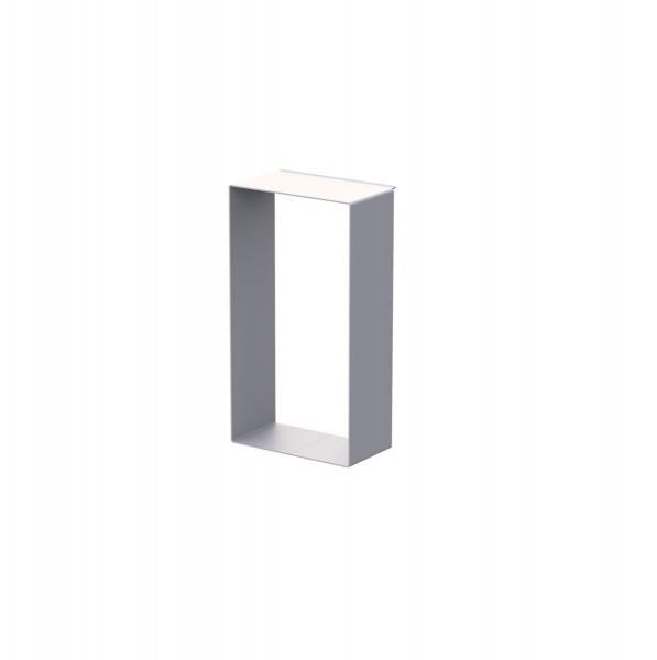 LINEAR Rahmen C, aus Aluminium, weiß pulverbeschichtet