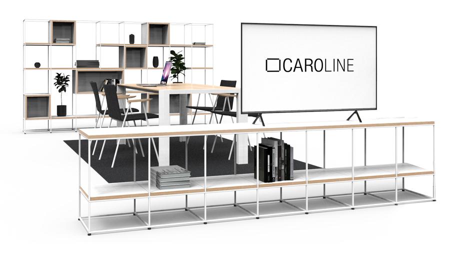 CAROLINE_Regal-Tisch-Sideboard
