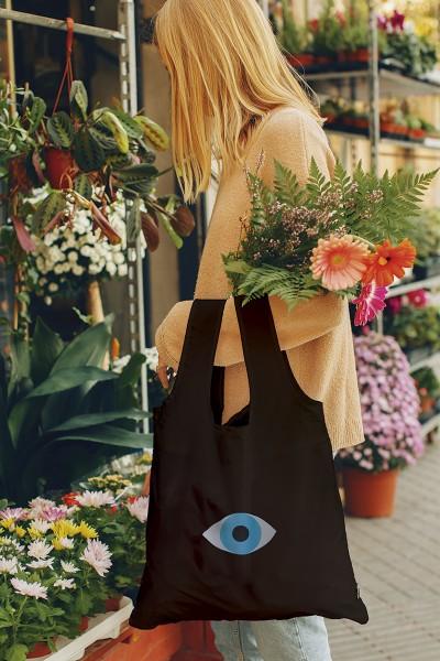 Go Green - Eye, Umweltfreundliche Tragetasche