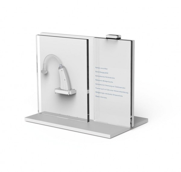 Dekorativer Halter für 1 Hörgerät - ADVICE