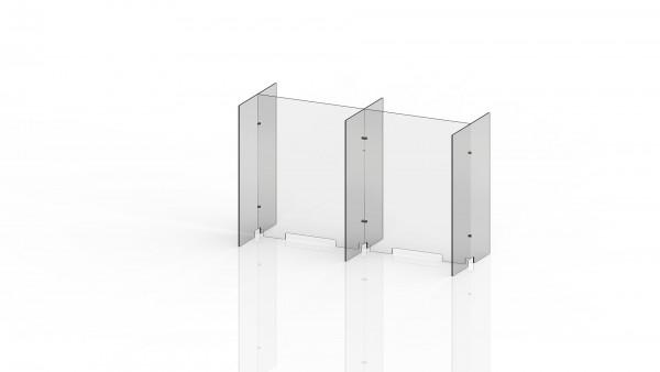 Trennwand-Element für Stehbereiche Set SB 02