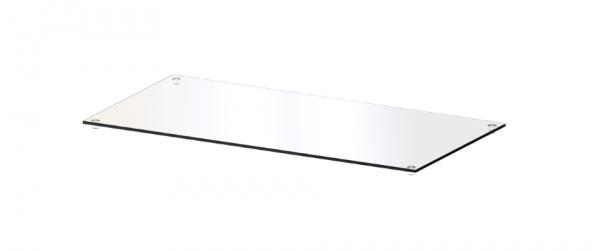 CAROLINE Top-Platte CR-TG 2, aus Klarglas