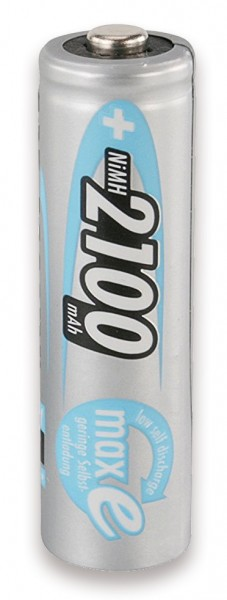 Wiederaufladbare Batterien AA für Mini TUBIX ELB