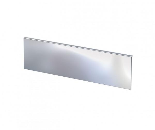Spiegel B, rechteckig, auf Grundplatte aus Aluminium, weiß pulverbeschichtet