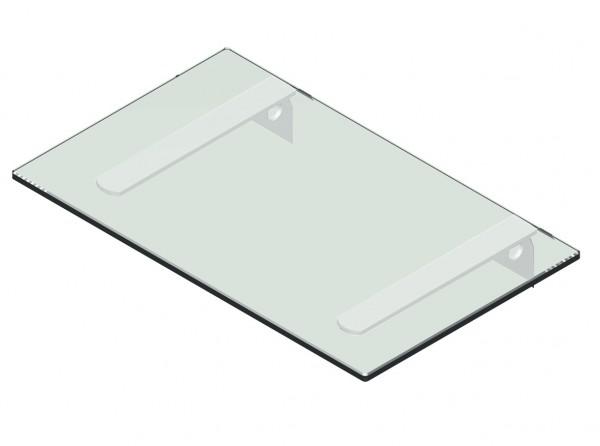 Glasablage für VARIO [LB] Lochblech