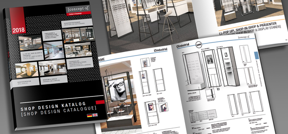 bef7e079af We are pleased to present today our new SHOP DESIGN CATALOGUE 2018: For  more than 25 years we have been developing shop design systems and shop  interiors, ...